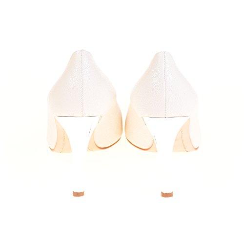 Kennel & Schmenger For Michalsky Damen Pumps Leder Weiß