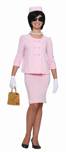 Jfk Costumes (Forum Flirtin with The 50's First Lady Costume, Pink, One Size)