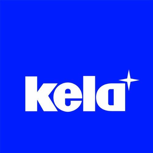 Kela 16920 support à essuie-tout, acier inoxydable mat, 'Rollo'