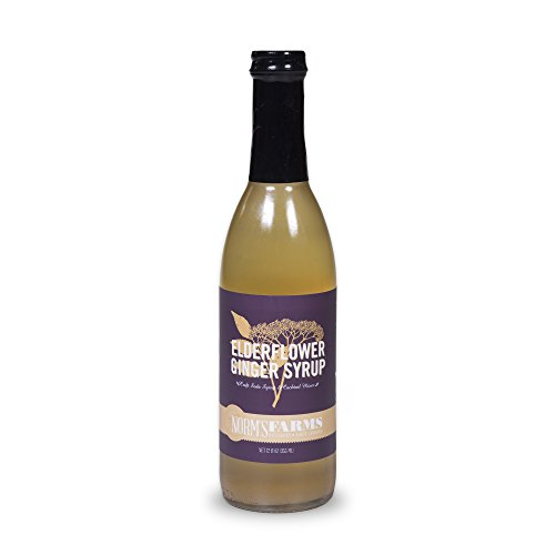 Norm's Farms Elderflower Ginger Syrup, 12 Ounce Bottle