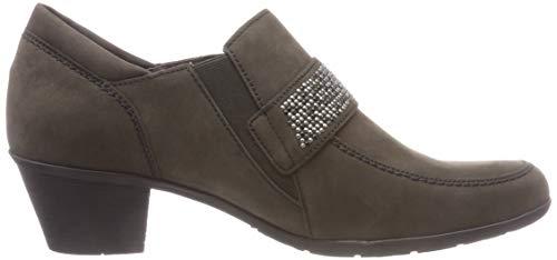 Gabor Tacón para Anthrazit Zapatos Shoes Gabor 19 Casual Gris de Mujer rxrAqH6