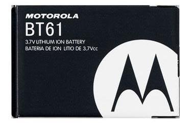 Motorola OEM BT61 BATTERY FOR Q9 Q9m Q9h V325 V323 V360 I880 I885 KRZR K1m (Q9m Standard Motorola Battery)