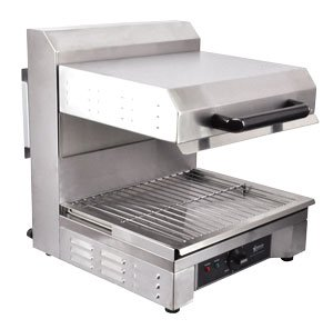 Omcan 39581 Heavy Duty Commercial Restaurant Electric SS Adjustable (Salamander Restaurant Equipment)
