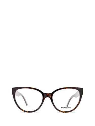 Luxury Fashion | Balenciaga Woman BB0064O002 Brown Acetate Glasses | Season Permanent