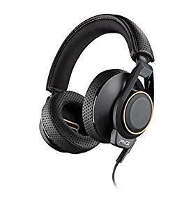 Plantronics Gaming Headset, RIG 600 Gaming Headset with High-Fidelity Sound and Removable Mic, Professional Cross-Platform Gaming Headphones
