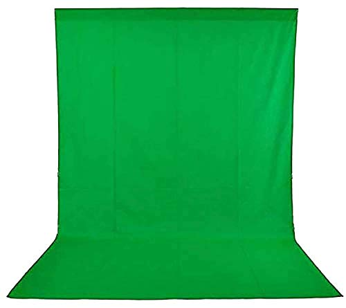 SONIA Professional Backdrop for Photography Background Stand Green Screen for Photo Light Studio Accurate 8x12 Ft for Chromakey Video Editing
