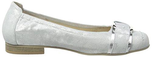 Semler Desiree - Tacones Mujer Weiß (101 - weiss-silber)