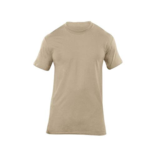 5.11 Tactical Men's UTILI-T Crew Neck Under-Shirt for Uniforms, T-Shirt , Pack of 3, Style 40016