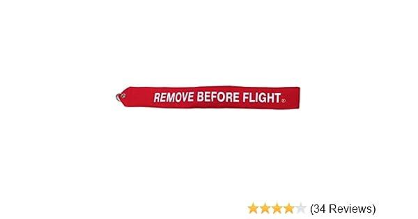 HEAVY DUTY VINYL PITOT TUBE COVER w// REMOVE BEFORE FLIGHT STREAMER
