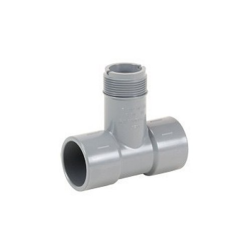 GF Signet MPV8T020F PVC Tee, Fitting Only, 2'' by GF Signet