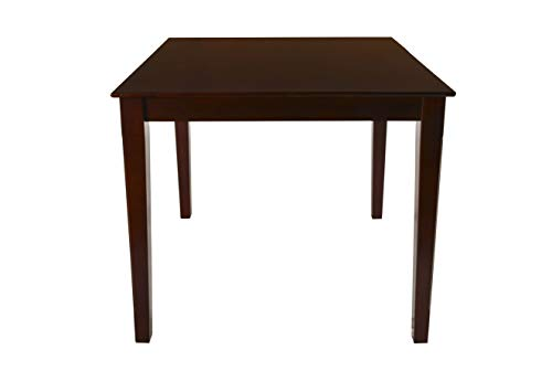 New Classic Furniture 04-0640-012 Abbie Counter Height Table, Bordeaux ()
