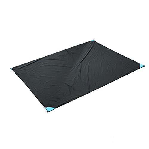 Slimerence Outdoor Blanket, Beach Camping Mat For Outdoor Water-Resistant Handy Mat Picnic, Travel, Hiking for the Beach, Camping on Grass Waterproof Sandproof Black by Slimerence