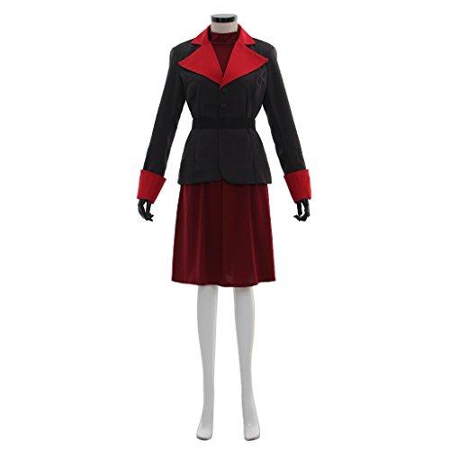 PONGONE Womens Avatar Korra Costume Korra Cosplay Full Outfit for Halloween Cosplay XS ()