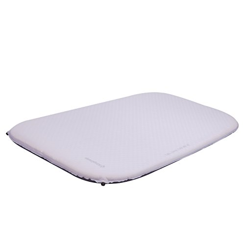 KingCamp DELUXE DOUBLE Self-Inflating Camping Pad, 3 inches Thick For Sale