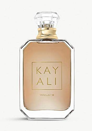 Huda Beauty Kayali Eau De Parfum! Bringing To Life Four Of Their Favorite Scents Luxury Fragrance! Choose Your Scents Elixir 11, Vanilla 28, Citrus 08 or Musk 12! (Vanilla 28, 1.6 Oz)