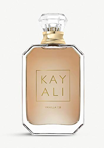 Huda Beauty Kayali Eau De Parfum! Bringing To Life Four Of Their Favorite Scents Luxury Fragrance! Choose Your Scents Elixir 11, Vanilla 28, Citrus 08 or Musk 12! (Vanilla 28, 1.6 Oz) from HudaBeauty