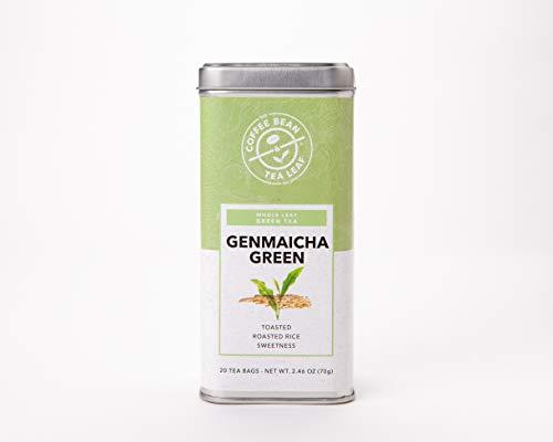 Genmaicha Green Tea - The Coffee Bean & Tea Leaf, Genmaicha Green Tea, 20 Count Tin