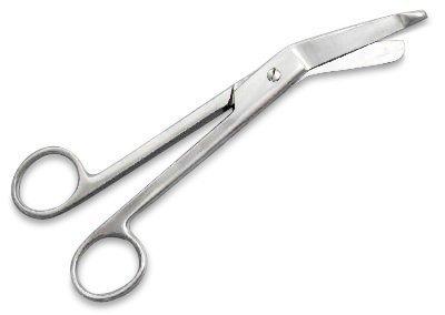 Verbandschere Verband-Schere Rostfreies Edelstahl verschiedene Grössen zur Auswahl (18 cm)