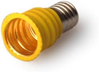E10 to E12 Light Lamp Bulb Socket Adapter Convertor 6-pack E10 to E12 Adapter