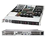 SUPERMICRO 1400-Watt 1U Rackmount Server Chassis, Black CSE-118G-1400B