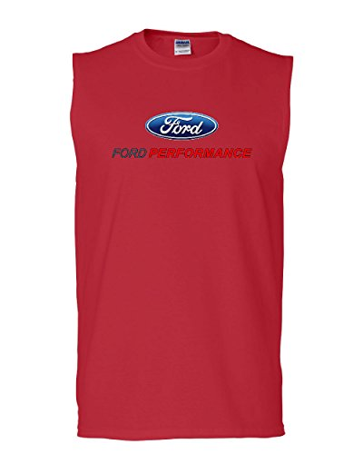 Ford Performance Muscle Shirt Ford Mustang GT ST Racing Red L