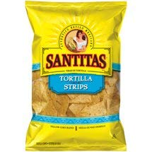 - Expect More Santitas White Corn Tortilla Strips, 6 ct. / 66 Oz.