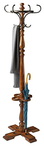 Butler Specialty 6002011 Costumer Coat Rack, Antique Cherry (Butler Costumer)