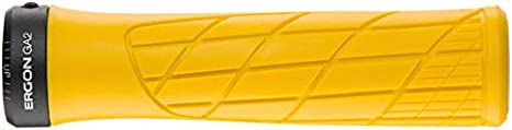 Ergon 8 Color Options GA2 Ergonomic Lock-on Bicycle Handlebar Grips Standard for Mountain Bikes Fat or Single Twist Shift Compatible