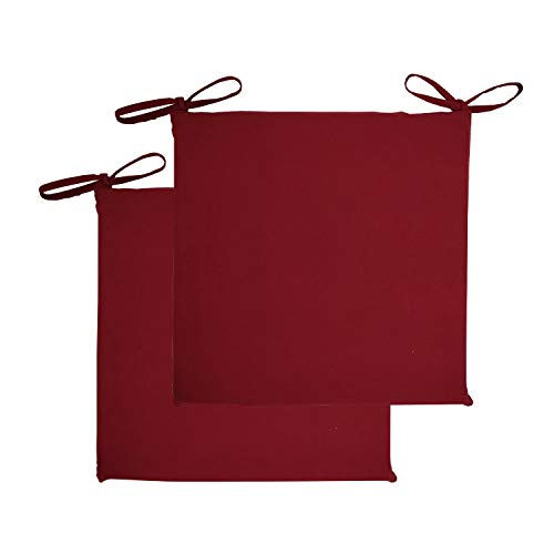 - shuoclouds 2 Pcs Square Cotton Canvas Non-Slip Back Cushion 16