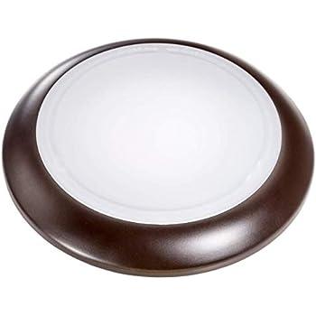 Topaz 70696 6 Quot 15w Dimmable Bronze Disk Light Sdl6 15 930