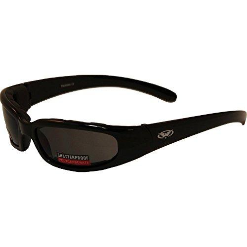 Chicago Smoked motorcycle sunglasses (Cglasses)