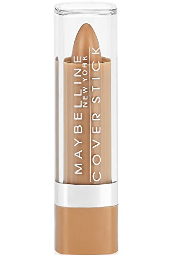 Maybelline New York Cover Stick Corrector Concealer, Deep Beige, 0.16 oz.