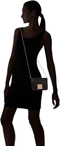Furla Metropolis Mini Crossbody - Shoppers y bolsos de hombro Mujer Negro (Onyx)