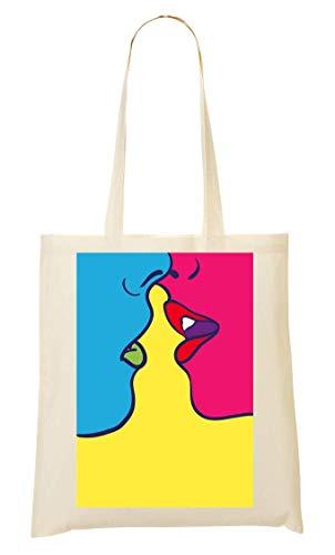 Collection La Bolso Kiss Compra Bolsa Ams amp; De Mano Funny Joke qTIIwH