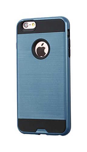 promo code c9687 bc586 Asmyna Cell Phone Case for Apple iPhone 6S/6 - Retail Packaging - Black/Blue