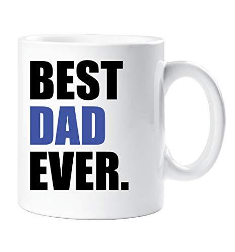 mejor padre alguna vez Taza Azul Día del Padre Taza ...