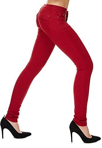 Hipsters Donna Hosen Jeans Skinny Tubi Arizonashopping Tubo Chiaretto D1701 Treggings dqaX5d4