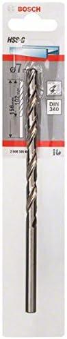Bosch 2608595687 Metal Drill Bit Hss-G Din 340 7mmx4.02In