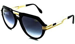 Cazal 657 Sunglasses 001 Black / Matte Gold 59mm