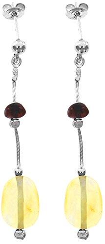 Nature d'Ambre - Boucles d'oreilles pendantes - Argent 925 - Ambre - 3131275RH