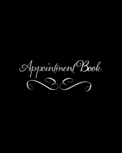 """Column Appointment Book (Appointment Book: Black 7 Column Appointment Book for Salons, Spas, Hairdressers and other Business   Weekly: Monday to Saturday   8"""" x 10"""" Paperback (Beauty) (Volume 6))"""