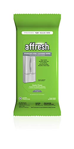 Affresh Stainless Steel Wipes, 28 Wipes | Dual Sided Durable Wipe, For Use On All Stainless Steel Surfaces