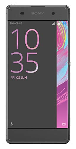 "Sony Xperia XA 16GB 4G LTE GSM Unlocked Smartphone w/ 13MP Camera & 5"" Borderless Display - Graphite/Black (Certified ()"