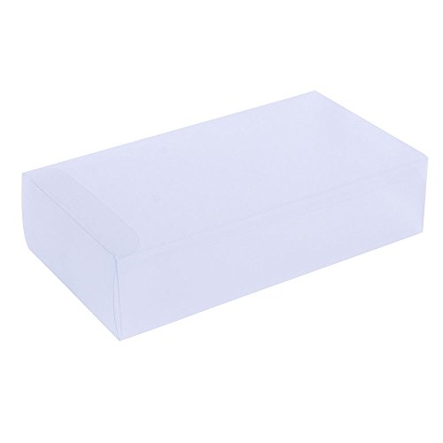 Rectangle Gift Box (ZOOYOO Clear Frosted Box for party favors, weddings, packaging - Rectangle 1.7in3.9in7in - 15pcs)