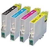 4 Pack Epson Ink Cartridges for Epson Stylus C68, C88, C88+, CX3800, CX3810, CX4200, CX4800, CX5800F, CX7800