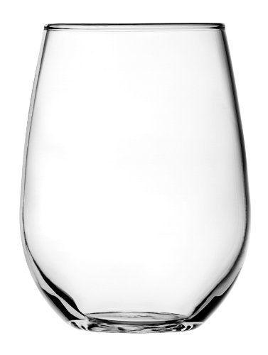 - Anchor Hocking 95141 95141AHG17 Wine Glass Set, 15 Oz, White