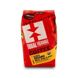 Equal Exchange Coffee, Whole Bean, Mind Body & Soul OG1 12 oz. (Pack of 6) 19 Equal Exchange Coffee, Whole Bean, Mind Body & Soul OG1 12 oz. (Pack of 6) ...