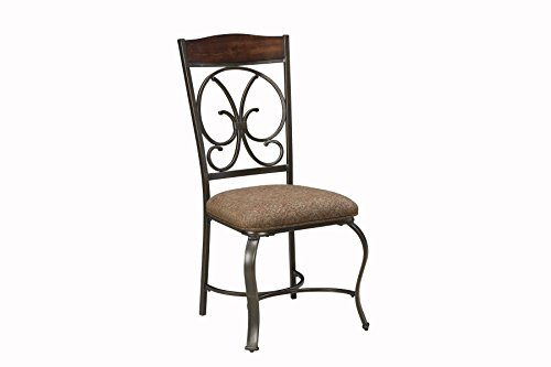 Gloombrey Dark Bronze Metal Dining Side Chair, Set of 4 For Sale