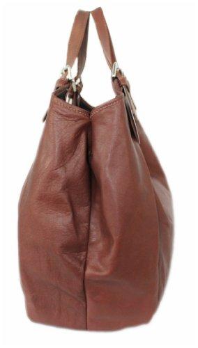 212659 Leatherworld Stoffa Marrone Borsa Womens Millions 736 Cognac Di marrone 4 250 FqqOnvW