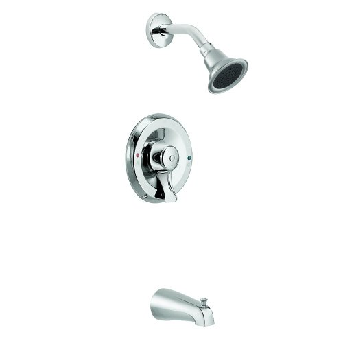 free shipping Moen T8389EP15 Commercial Posi-Temp Eco Performance Pressure Balancing Tub/Shower 1.5 gpm, Chrome